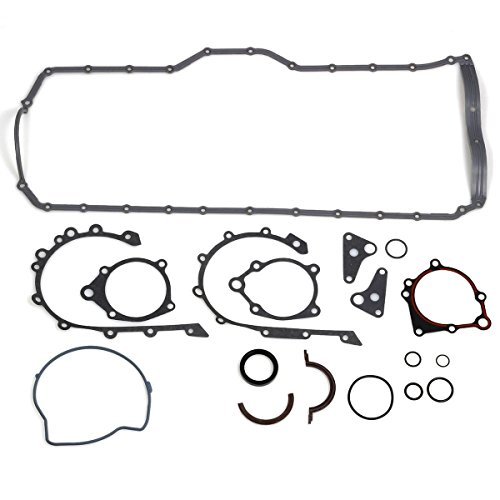 Lower Oil Pan Gasket (PartsSquare 92-00 Jeep Grand Cherokee Comanche Wrangler 4.0L OHV Lower Gasket Set)