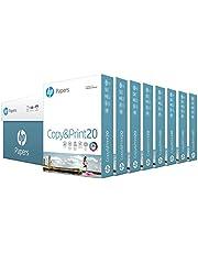 HP Printer Paper 8.5x11 Copy&Print 20 lb 8 Ream Case 4000 Sheets 92 Bright Made in USA FSC Certified Copy Paper HP Compatible 200170C