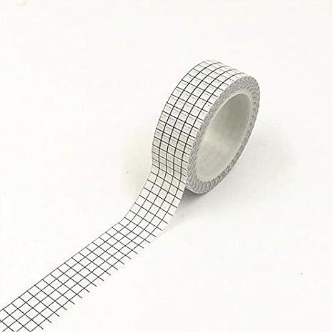1 Roll Retro Edge Adhesive Washi Tape Paper Masking Stickers DIY Scrapbooks