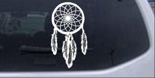 Dreamcatcher Western Window Laptop Sticker
