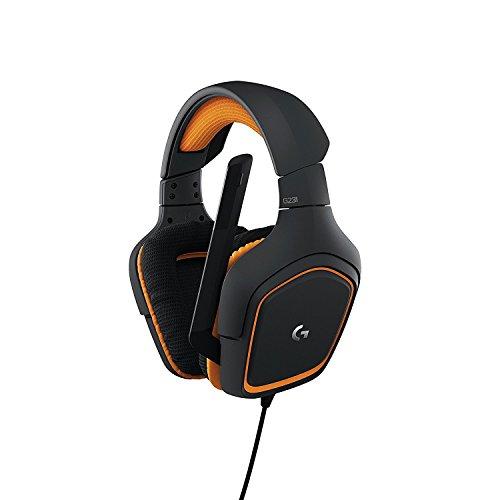 Logitech G231 PRODIGY Wired Stereo Gaming Headset Orange/Black 981-000625