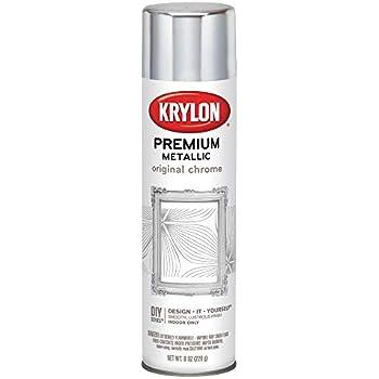 Krylon Looking Glass SilverLike Aerosol Spray Paint 6 Oz