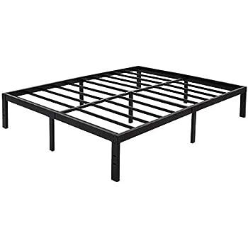 Amazon Com 45min 14 Inch Platform Bed Frame Easy Assembly