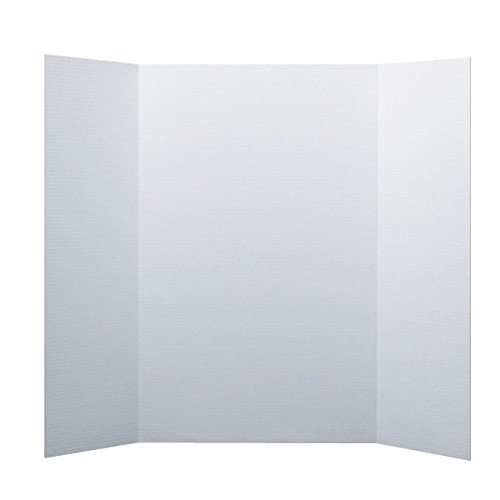 Flipside Products 30046 Project Display Board, White (Pack of 24)