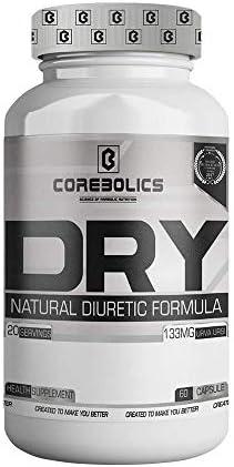 COREBOLICS SCIENCE OF ANABOLIC NUTRITION Dry Natural Diuretic Formula 60 Capsule