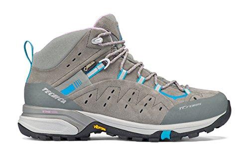 Tecnica outdoor Bota t/cross mid fw gtx ws gris/azul claro 4