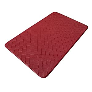 Growneer Ergonomically Engineered Non-slip Anti-fatigue Comfort Kitchen Mat for Bathroom Office