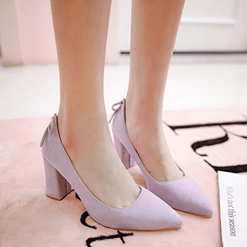 Doux Melady Escarpins Basic Bureau 2 Heels violet Femmes Shoes r5xZwqrg