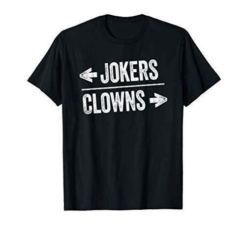 Halloween Clown Meme (Clown World Meme Humor Halloween Left & Right Clown Jokers)