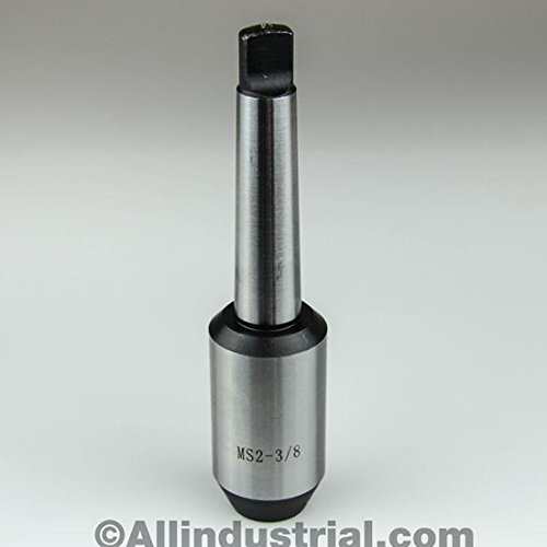 "1//4/"" MT2 MORSE TAPER END MILL TOOL HOLDER ADAPTER 3//8/""-16 DRAWBAR END 2MT"