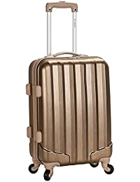 Rockland Luggage Melbourne 20 Inch Expandable Carry On, Bronze