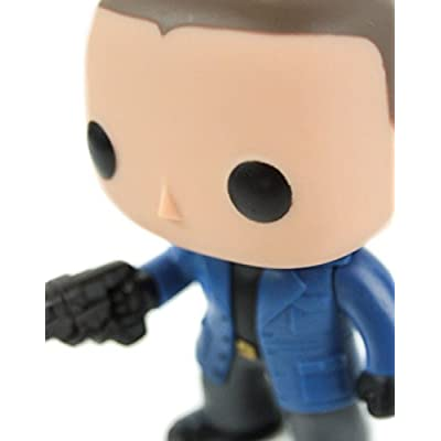Funko POP TV The Flash Captain Cold Unmasked EE Exclusive: Toys & Games