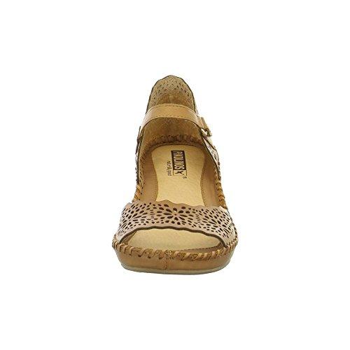 Pikolinos 9430986brandy - Sandalias de vestir de Piel para mujer Marrón