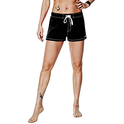 Nonwe Women's Beach Shorts Quick Dry Soild Lightweight at Women's Clothing store