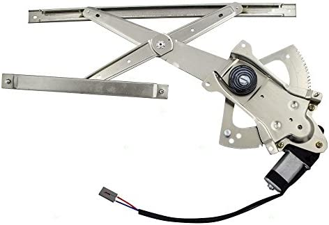 Power Window Lift Regulator With Motor For Chevrolet Cadillac GMC Pickup Truck Front Driver Side