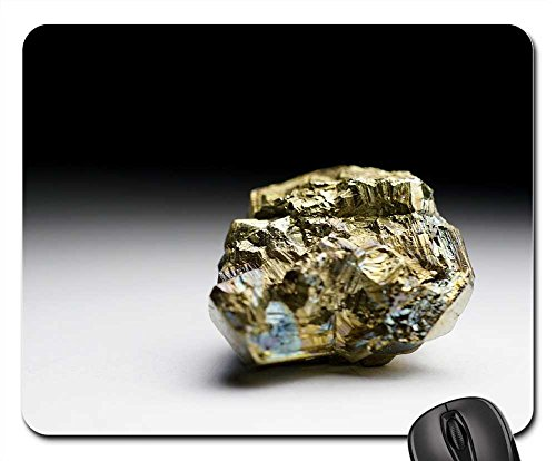 Mouse Pads - Pyrite Pyrites Fools Gold Iron Gravel Mineral