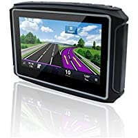 Naladoo 4.3 inch Motorcycle GPS Navigator 8GB Support Multi-Languages riding