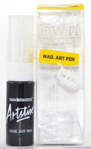 Models Own Nail Art Pen Black 6ml Amazon Beauty
