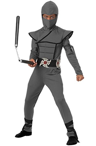 8eigh (Child Blue Stealth Ninja Costumes)