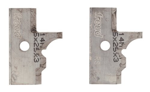 Freud RS-C Profile Knives For Freud RS1000 Or RS2000 Rail And Stile Insert Shaper Cutter