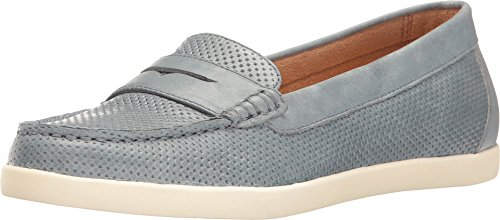 Naturalizer Women's Gwen Loafer,Lady Blue Leather,US 9 M