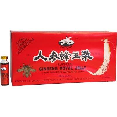 Тай Чи - Верховный Женьшень Королевское Желе ротовой жидкости Верховный 2000 мг, 30 х 10 мл