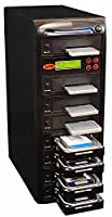 "Systor Systems 1:7 SATA 2.5"" & 3.5"" Dual Port/Hot Swap Hard Disk Drive/Solid State Drive (HDD/SSD) Clone Duplicator/Sanitizer (300MB/s) 3.5 inches SYS307DP"