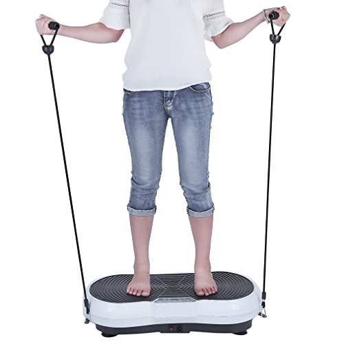 Homgrace Fitness Vibration Platform Workout Machine, Exercise Equipment For Home, Vibration Plate, Balance Your Weight Workout Equipment Includes by Homgrace