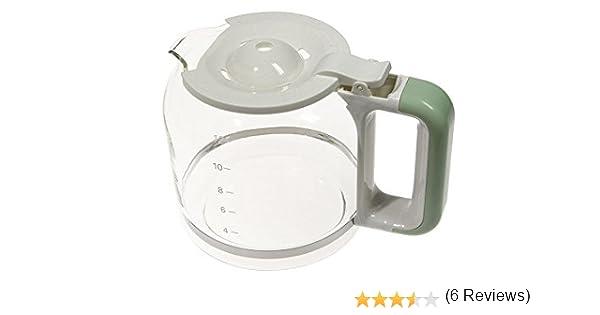 Ariete jarra jarra recipiente recipiente cristal verde máquina ...