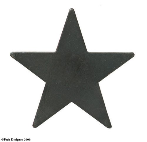 Star Napkin Rings, Set of 4