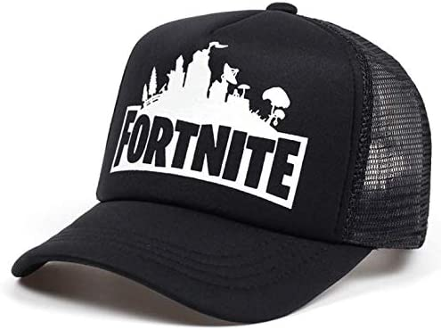 buy online official site good selling Black New Fashion fortnite Printed Baseball Cap Cotton Mesh Hat ...