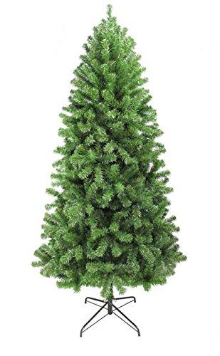 oncor 7ft eco friendly slim alaska pine christmas tree - 7ft Slim Christmas Tree