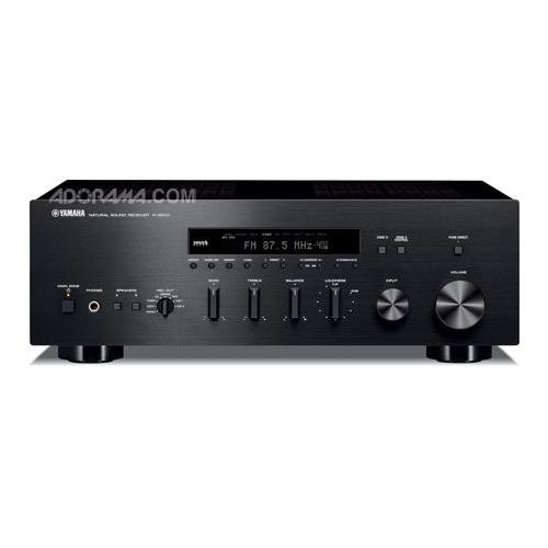 Yamaha R-S500BL Natural Sound Stereo Receiver (Black) by Yamaha