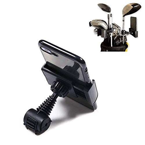 Warooom SelfieGolf Record - Cell Phone Clip Holder and Training Aid Golf Swing Golf Accessories Instant Feedback Quick & Easy to Set Up