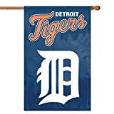 "IFS - Detroit Tigers MLB Applique Banner Flag (44x28"")"""