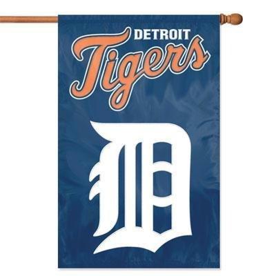 IFS - Detroit Tigers MLB Applique Banner Flag (44x28