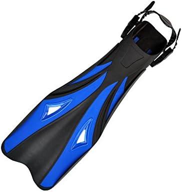 ダックウェブ 水泳のシュノーケリングのための潜水フィンのシュノーケリングの水泳のひれ ダイビングフィン (Size : L-XL)