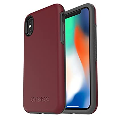 0b8ea91878 Image Unavailable. Image not available for. Colour: OtterBox SYMMETRY  SERIES Case for iPhone Xs & iPhone X - Frustration Free Packaging ...