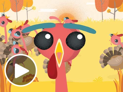 Turkey Run - Animated eGift Card