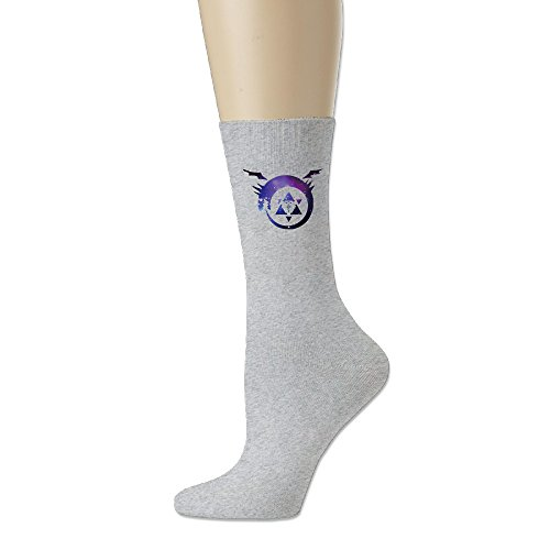 Adult Unisex Full Metal Alchemist Athletic Sock Casual Socks (3 Colors)
