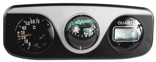 Custom Accessories 73390 Thermometer Compass
