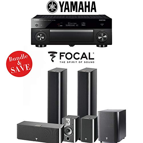 Focal Chorus 716 5.1-Ch Home Theater Speaker System with Yam