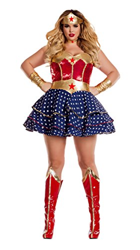 Party King Women's Wonderful Sweetheart Plus Size Costume (Large Image)