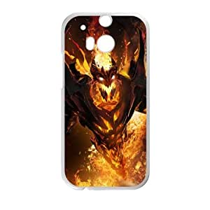 HTC One M8 Cell Phone Case White Defense Of The Ancients Dota 2 SHADOW FIEND 004 VS5397827
