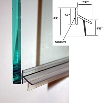 Clear Polycarbonate Drip Rail and Sweep Combination w/VHB Tape for ...