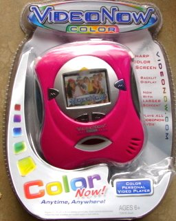 Video Now Color Fuschia Player by Hasbro