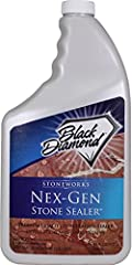 Black Diamond's Nex-Gen Sealer is the finest quality oil and water repellent available. Using this product will keep all your natural stone looking new for years to come. Nex-Gen Stone Sealer gives you the confidence your stone is protected. ...