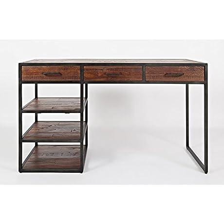 Jofran 1689 50 Flat Iron District Desk 50 W X 20 D X 30 H Flat Iron District Finish Set Of 1