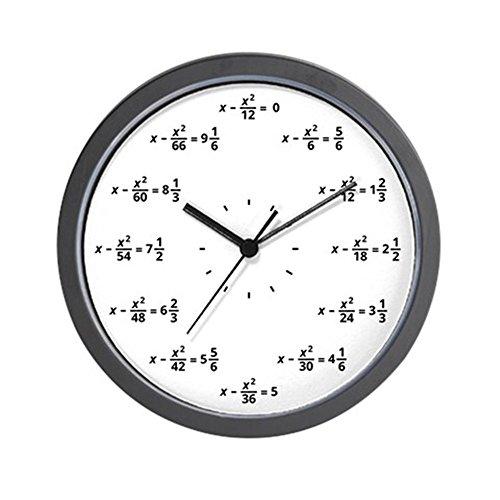 CafePress - Math Clock - Unique Decorative 10