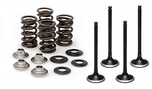 Kibblewhite Black Diamond Intake & Exhaust Valves & Valve Springs Kit - compatible with Kawasaki KX450F - 2009-2015